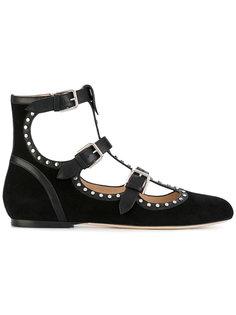 туфли-лодочки на плоской подошве Hartley Jimmy Choo