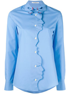 рубашка с декоративной окантовкой Vivetta