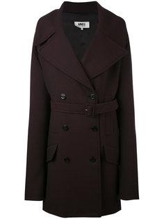 пальто свободного кроя Mm6 Maison Margiela