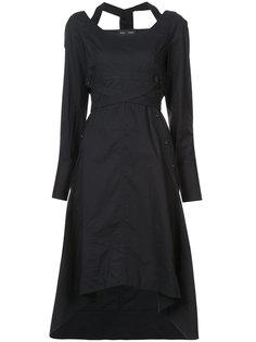 платье с деталью халтер Proenza Schouler