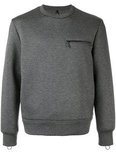 свитер с карманом на молнии Neil Barrett