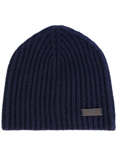 шапка ребристой вязки Salvatore Ferragamo