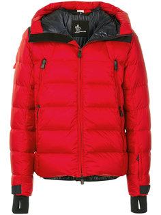 стеганая куртка с капюшоном Moncler Grenoble