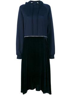 платье-толстовка с контрастными деталями Cédric Charlier
