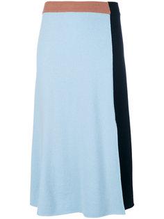 юбка в стиле колор блок Cédric Charlier