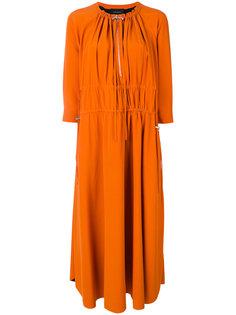 платье со стяжкой Cédric Charlier