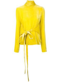 блузка с завязкой на талии Cédric Charlier