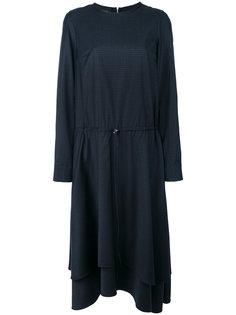 платье в клетку виши с кулиской Cédric Charlier