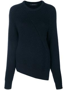 асимметричный свитер с ребристой фактурой Cédric Charlier