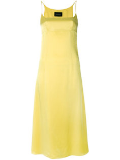 платье-комбинация длины миди Cédric Charlier