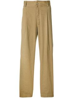 прямые брюки чинос Moncler