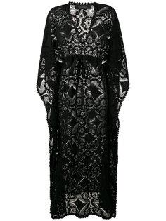 кружевное платье-кафтан Celia Dragouni