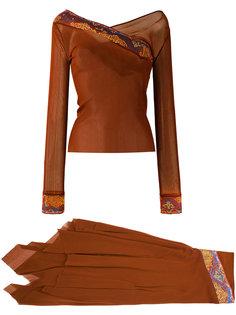 винтажный костюм Jean Paul Gaultier Vintage