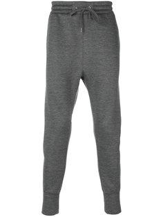 зауженные спортивные брюки Helmut Lang