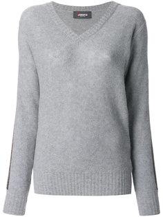 пуловер с V-образным вырезом Jo No Fui