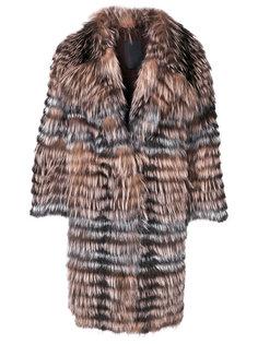 пальто в полоску  Liska