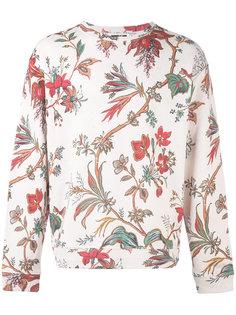 толстовка с цветочной вышивкой McQ Alexander McQueen