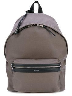 рюкзак с передним карманом Saint Laurent