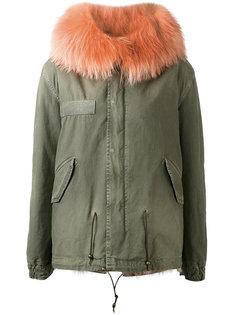 куртка с капюшоном с оторочкой из лисьего меха Mr & Mrs Italy