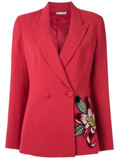 embroidered blazer Martha Medeiros