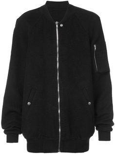 классическая куртка бомбер Rick Owens