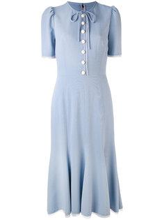 платье-шифт средней длины Dolce & Gabbana