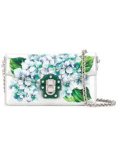 клатч с принтом гортензий Dolce & Gabbana