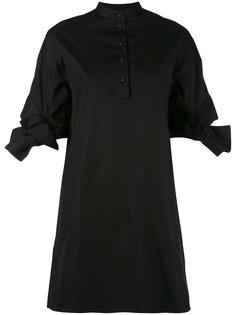 платье с завязками на рукавах Victoria Victoria Beckham