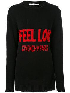 свитер с надписью Givenchy