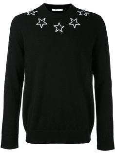 свитер с вышивкой Givenchy