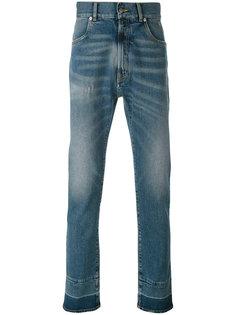 джинсы с потертостями Maison Margiela