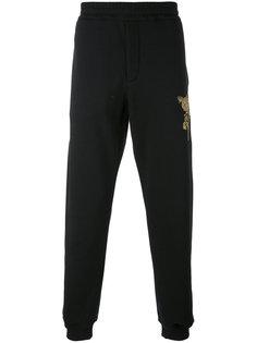 спортивные брюки с вышивкой Alexander McQueen