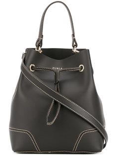 сумка-ведро с декоративной строчкой Furla