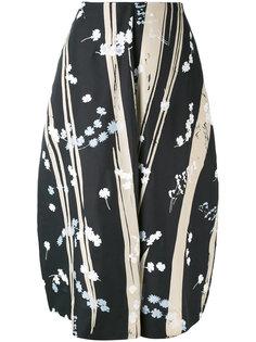юбка с принтом Dryas Jil Sander
