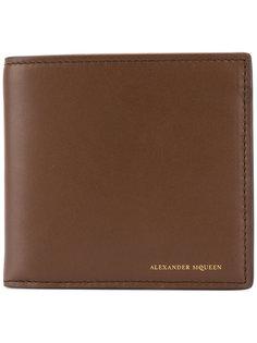 классический бумажник Alexander McQueen