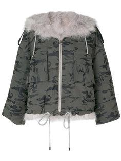 куртка-бомбер Ana с камуфляжным рисунком Cara Mila