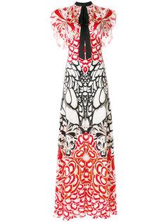 платье макси с принтом Blaze Temperley London
