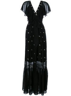 платье в пол Starling Temperley London