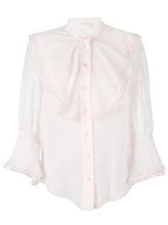 блузка с оборками Chloé
