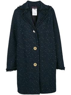пальто свободного кроя Talbot Runhof