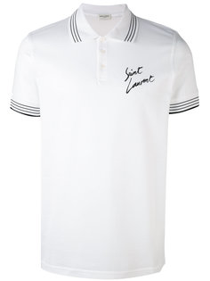 футболка-поло Saint Laurent
