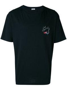 футболка с графическим принтом Saint Laurent