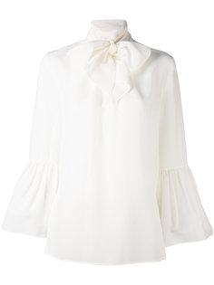 блузка с завязками на шее Fendi