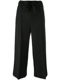 укороченные строгие брюки Fendi