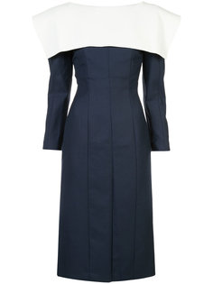 collar detail fitted dress Jacquemus