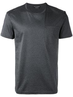 футболка с узором черепов Alexander McQueen