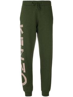 спортивные брюки с принтом логотипа Kenzo