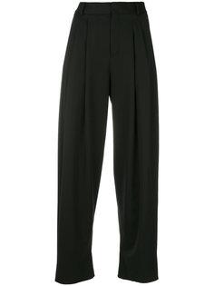 укороченные широкие брюки Saint Laurent