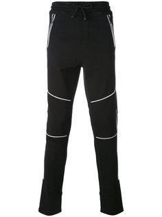 спортивные брюки с контрастными деталями Just Cavalli