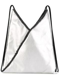 металлический рюкзак на шнурке Mm6 Maison Margiela